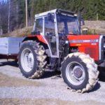 Traktor er kjekt å ha!